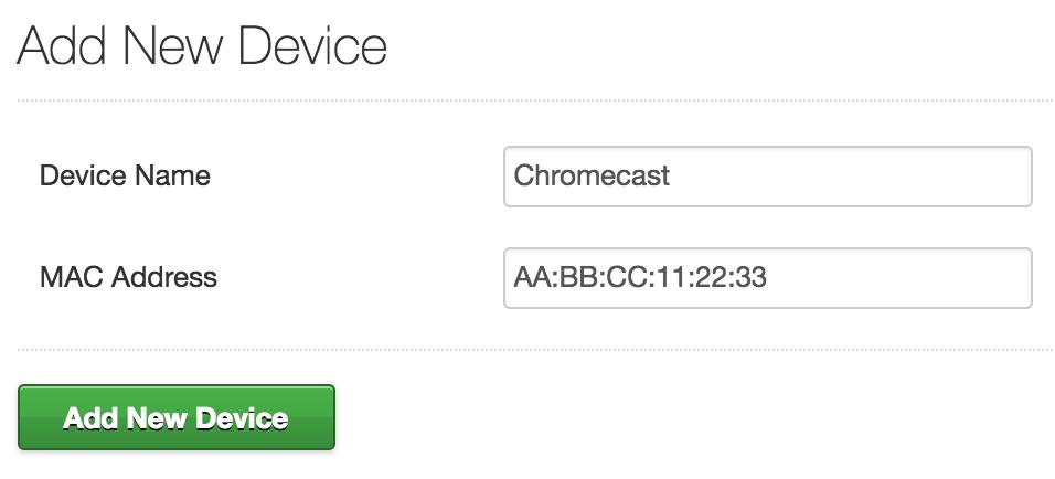 Chromecast-add-device
